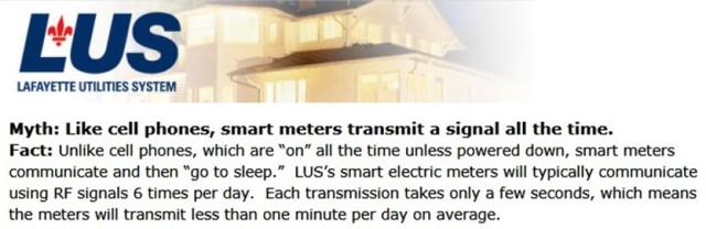 LUS Meter Transmits