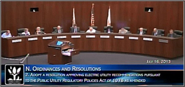 PURPA Standards Vote Photo 2