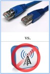 Wired vs Wireless Connection