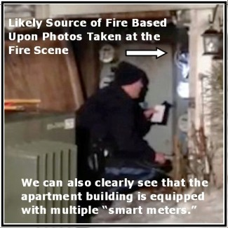 PA Updated Smart Meter Fire Photo B