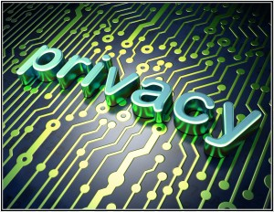 Privacy Clipart with Circuit Board