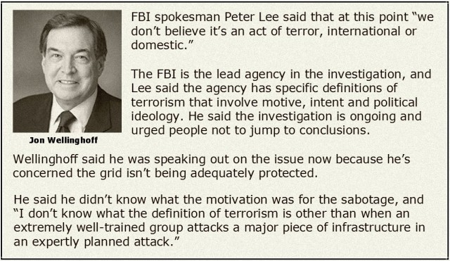 Wellinghoff and FBI Statements