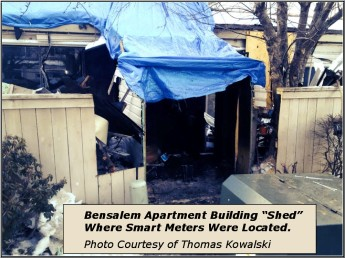 PA Smart Meter Fire Aftermath.2014