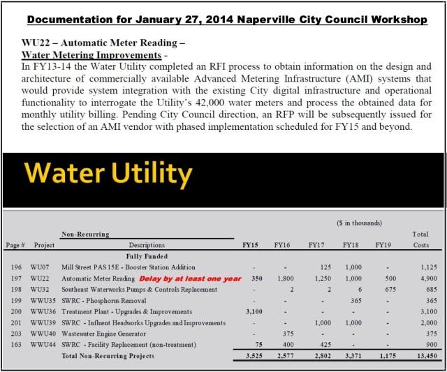 Naperville Smart Water Meter Project