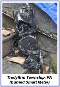 Landis Meter Fire in PA 2013