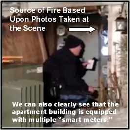 PA Updated Smart Meter Fire Photo C