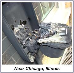 Smart Meter Fire Near Chicago IL
