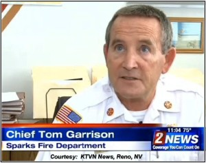 Fire Chief Garrison