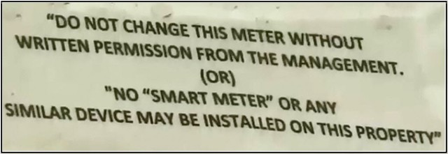 No Smart Meter Posting in San Antonio