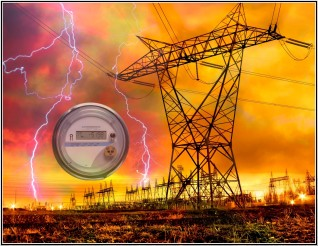 Lightning Strike of Grid.with SM