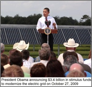 Obama Smart Grid Photo 2009