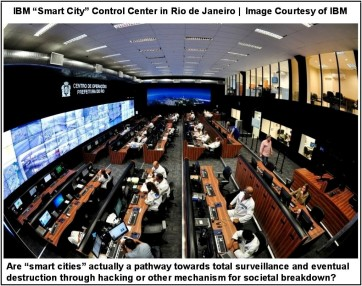 Rio Smart City Control Center