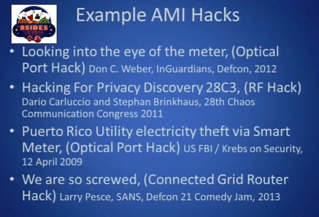 Example AMI Hacks