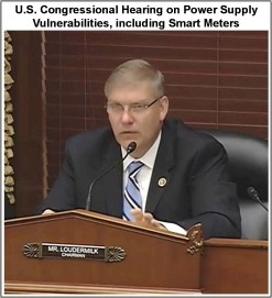 Congressional Hearing on Power Supply Vulnerabilities