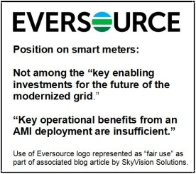 Eversource Position on Smart Meters