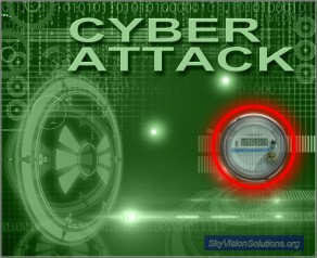 Cyber Attack Image with SM