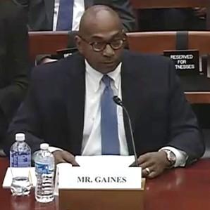Gaines Testimony Oct 2015