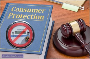 Consumer Protection Clipart with NOT Smart Meter