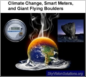 Climate Change Smart Meters and Boulders