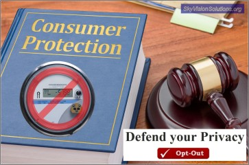 Consumer Protection Clipart with Opt Out