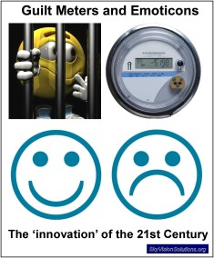 Emoticons Guilt and Smart Meters