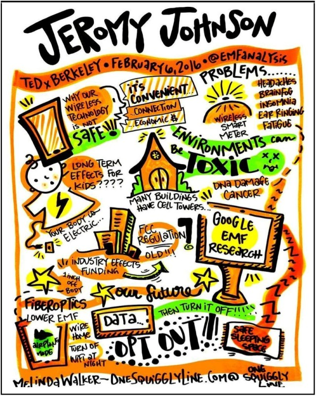 Jeromy Johnson TEDxBerkeley Graphic Recording & Illustration