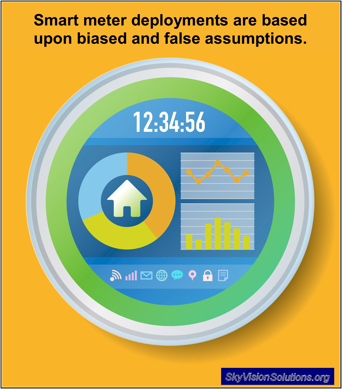 Smart Meter Deployments: Based upon Biased and False