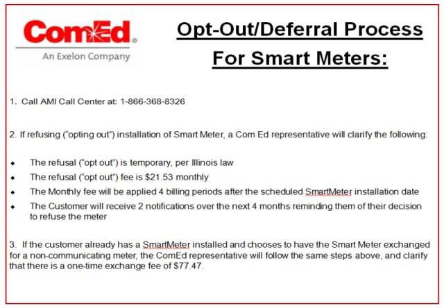 ComEd SM Deferral Process