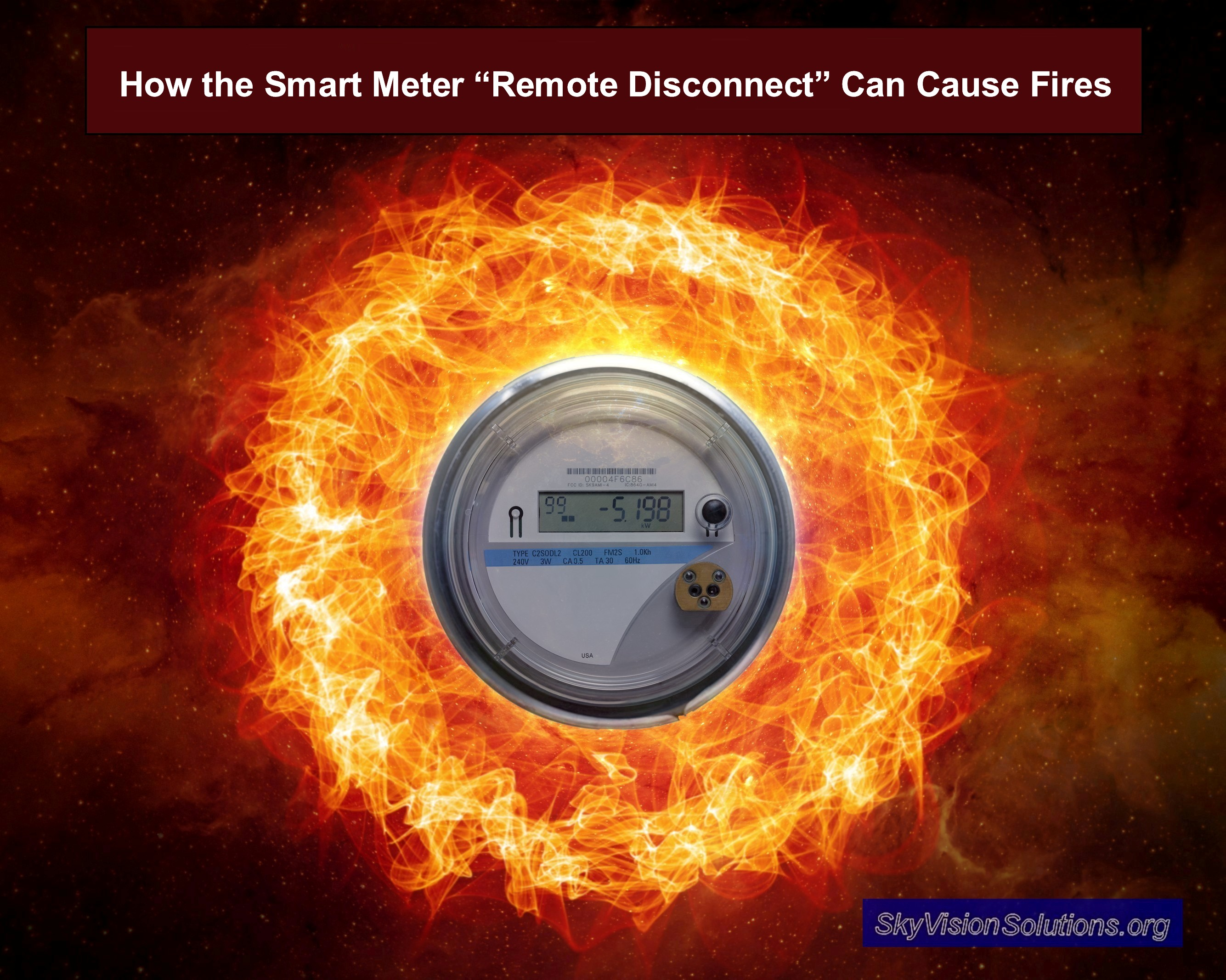 How the Smart Meter 'Remote Disconnect' Can Cause Fires | Smart Grid